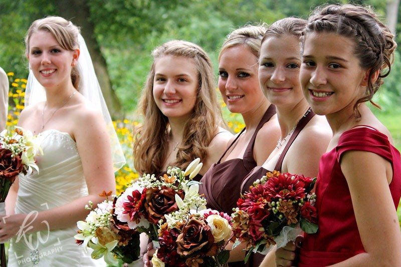 Bridesmaids photography in PA