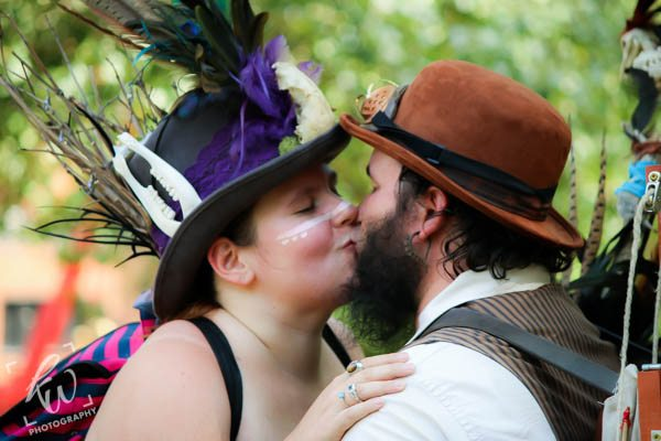 Wedding proposal at the PA Ren Faire Time Traveler's Weekend!