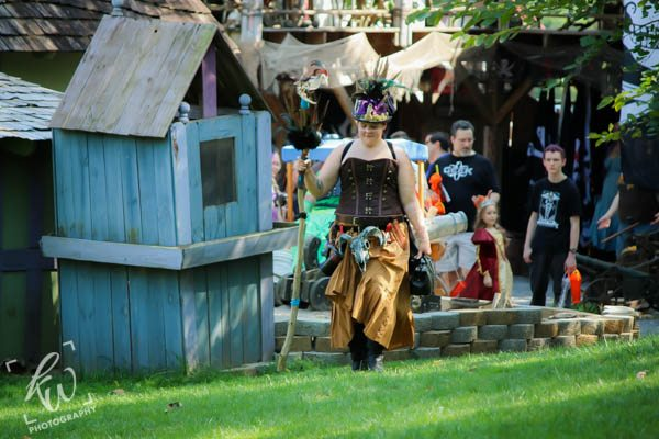 Steampunk Alchemist at the Pennsylvania Renaissance Faire