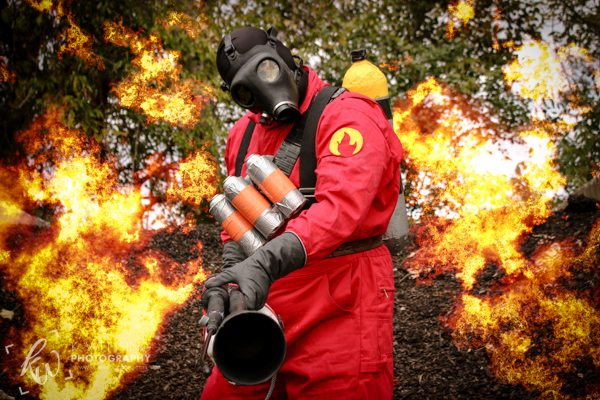 The Red Pyro has you in their sights!