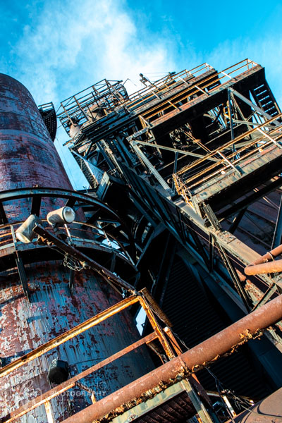 SteelStacks, which used to be Bethlehem Steel, still stands tall.