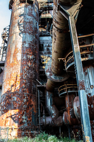 The amazing structure of Bethlehem Steel.